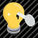 creative solution, digital solutions, idea, innovation, innovative solution, key solution icon