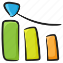 barchart, business growth, business profit, growth chart, profit analysis icon