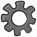 config, configurations, gear, options, setting icon