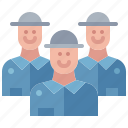 employee, business, worker, people, staff, crew, labor icon