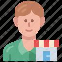 entrepreneur, manager, business, owner, merchant, man, avatar