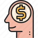 business, thinking, head, businessman, money, idea