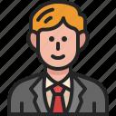 businessman, worker, man, male, salaryman, avatar, manager