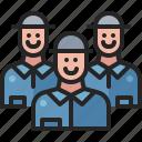 employee, business, worker, people, staff, crew, labor