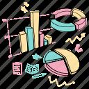 charts, analysis, graph