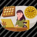 business, illustration, marketing, idea, finance, office, schedule