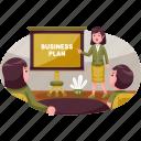 business, illustration, plan, meeting, management, marketing, office