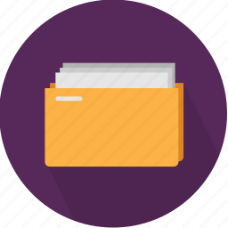 archives, business, data, directory, document, folder, organize icon