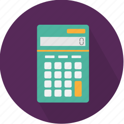 accounting, calculator, computer, electronic, math, technology icon