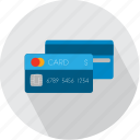 bank, business, card, commerce, credit, debit, payment icon