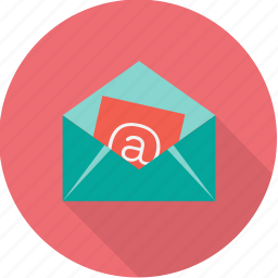 address, envelope, internet, letter, mail, message, send icon
