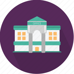 architecture, building, business, estate, office, town, warehouse icon