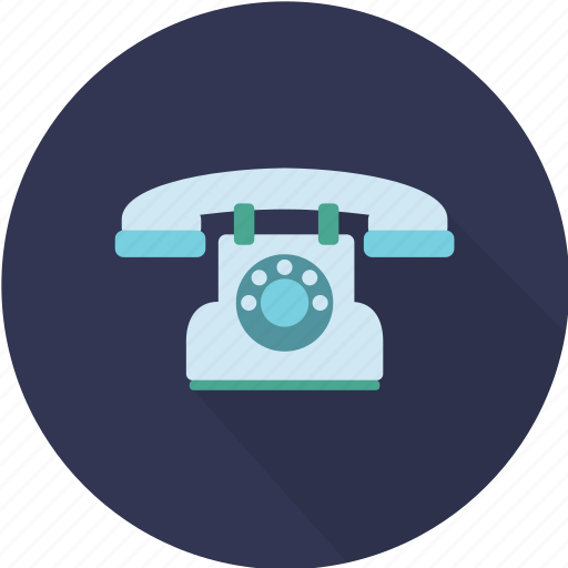 call, classic, connect, device, dial, phone, talk icon