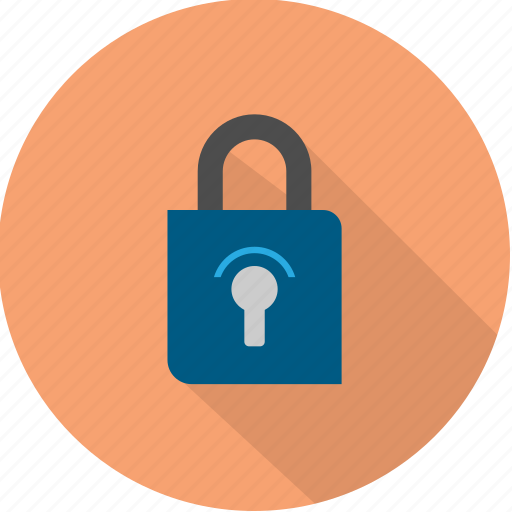 lock, padlock, password, protect, safe, safety, security icon