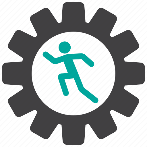business, cogwheel, gear, operator icon