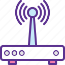 internet booster, internet connection, internet modem, internet router, wifi network icon