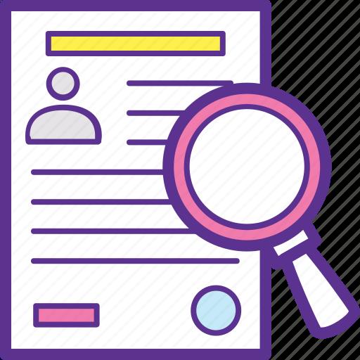 employee data analysis, employee information, employee management, human resources, record keeping icon