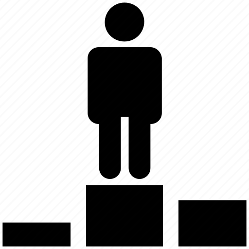 award, business, first, man, place, winner icon