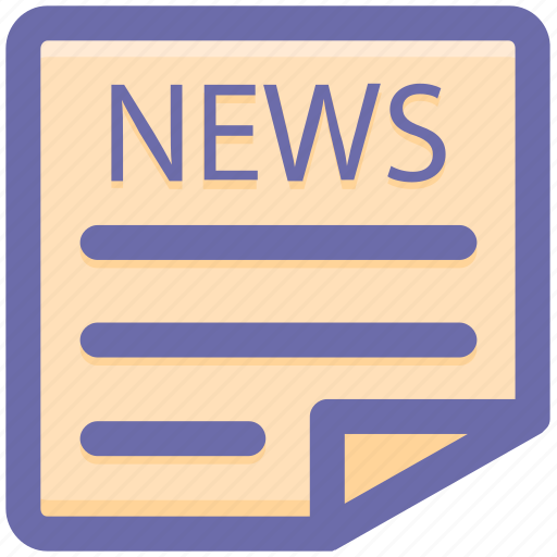 News, newspaper, paper, press, reading, subscribe icon - Download on Iconfinder