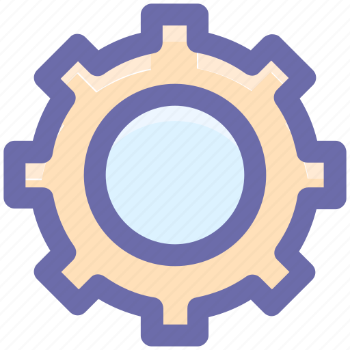 Cog, cogwheel, engine, gear, gearwheel, setting icon - Download on Iconfinder