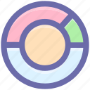 circle, diagram, graph, loading, pie, pie chart icon