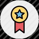 award, badge, bravery, medal, premium, rank, star