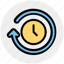 clock, loading, loading time, searching time, sync, timer icon