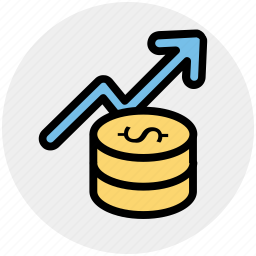 Coin, currency, dollar, dollar coins, finance, money icon - Download on Iconfinder