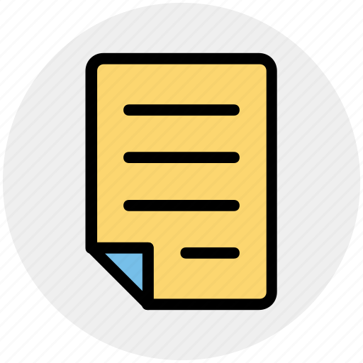 banking, contract, document, file, page, paper, sheet icon