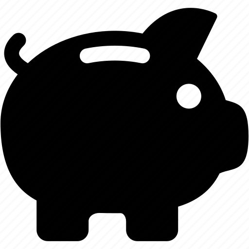 bank, business, coin, finance, pig, piggy icon