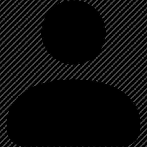 account, avatar, people, portrait, profile, user icon