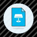 keynote, presentation, iwork, key, mac, business, format, file icon