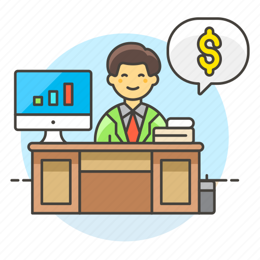 2, accountant, accounting, adviser, books, business, expense, financial, graph, income, invoicing, man, money icon