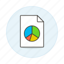 business, file, presentation, slides icon
