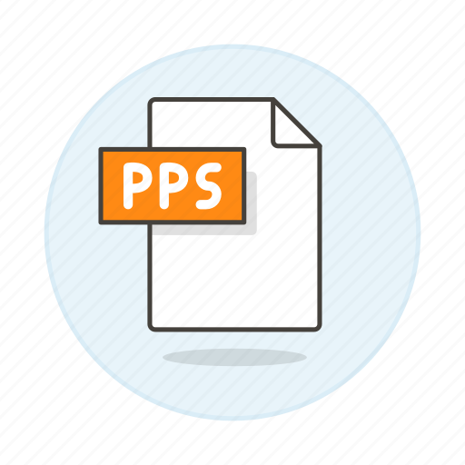 business, file, format, point, power, pps, presentation, slides icon