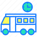 bus, delivery, school, transport, travel, van, vehicle icon