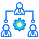 business, communication, group, management, profile, team, users icon
