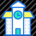 bank, banking, clock, hours, school, time, treasury