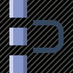 align, art, design, graphic, grid, pixel, to, tool icon