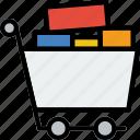 business, cart, finance, full, marketing, shopping