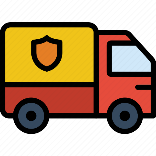business, finance, marketing, secure, transport icon