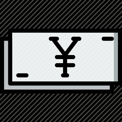 business, finance, marketing, yen icon