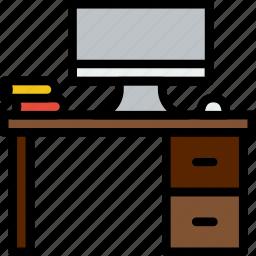 business, desk, finance, marketing, work icon