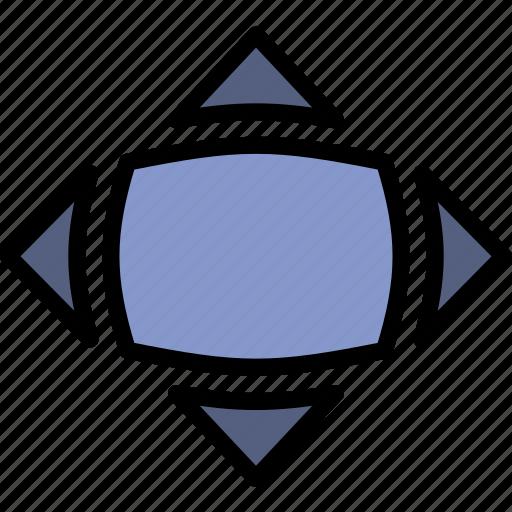 bloat, design, graphic, tool icon
