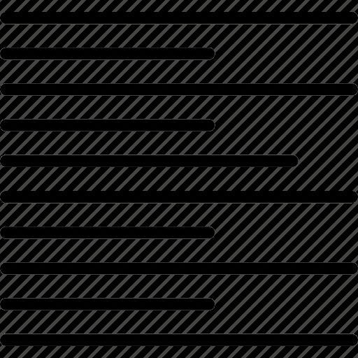 align, design, graphic, left, text, tool icon
