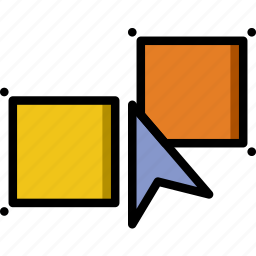 design, graphic, object, select, similar, tool icon