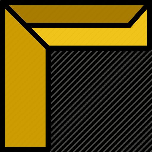 design, graphic, ruler, tool icon