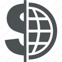 business, cash, commerce, dollar, finance, money icon
