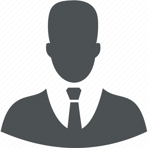 business, commerce, finance, person, user icon