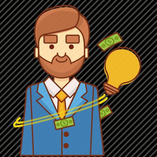 budget plan, business, business idea, businessman, finance, idea, marketing icon